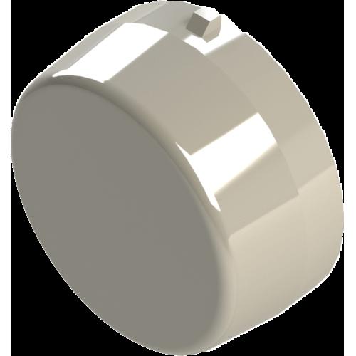 end cap for plastic mounted bearing blocks