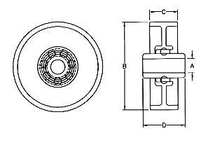 skatewheel ball bearings