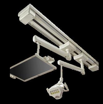Roll Guide Bearings for Medical and Dental Lighting