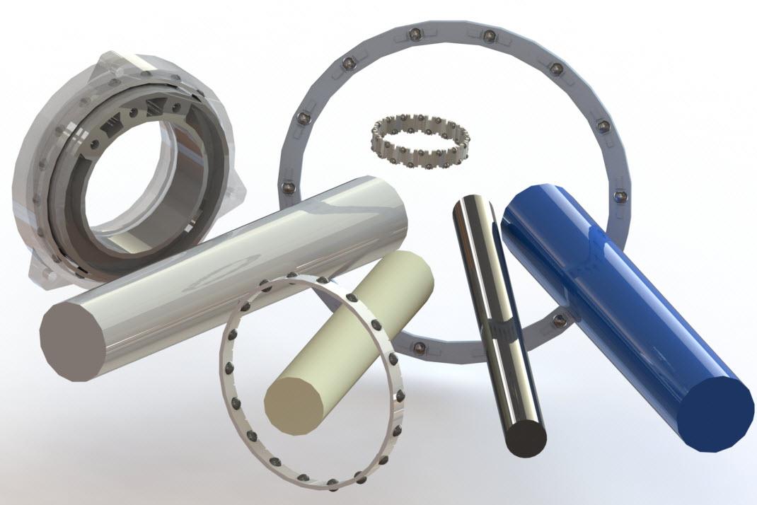 semi custom bearings