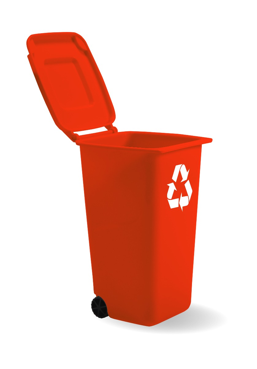disposable bin