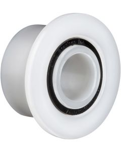 """1509, Oliver Design/Xyratex """"AFTER MARKET"""" Double Row Flange Plastic Ball Bearing With Groove for Disk Cleaning Machine 3/8"""" x 3/4"""" x 1"""""""
