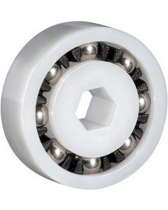 "2045, Polaris® PART NUMBER 9-100-1108 Turbine Ball Bearing - 7/32"" HEX x 7/8"" x 9/32"""
