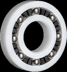 Acetal Plastic Radial Ball Bearings